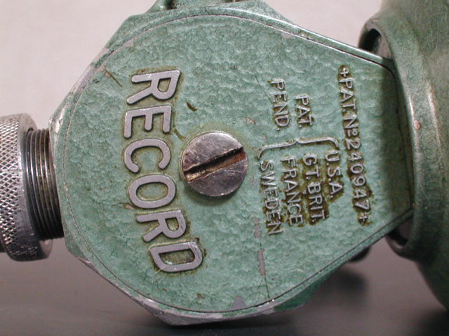 Old ABU RECORD 500 SPINNINGREEL