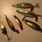 Old BETE JAMTLAND SPOON LURES