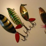 Old BETE KROCODILE SPOON LURES
