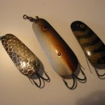 Old BETE NIX SPOON LURES