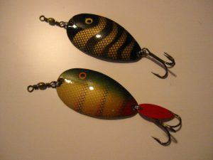 Old BETE SALMO SPOON LURES