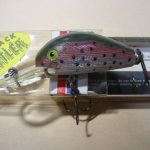 Old REBEL HUMPBACK RATTLER LURE