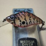 NATURAL IKE MEDIUM DIVER LURE