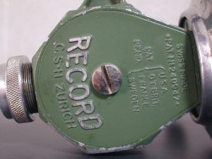 Old SWISS RECORD SPINNING REEL