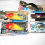 Old REBEL DEEPRUNNER FASTBACK LURES