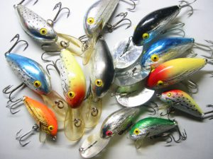 Old REBEL FASTBACK LURES