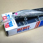 Old REBEL DEEP RUNNER MINNOW LURE