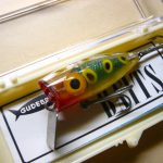 Old GOLDEN EYE BASSPIRIN LURE