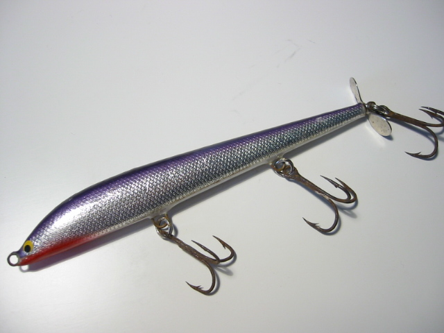 Old BAGLEY'S WALKIN TORPEDO LURE