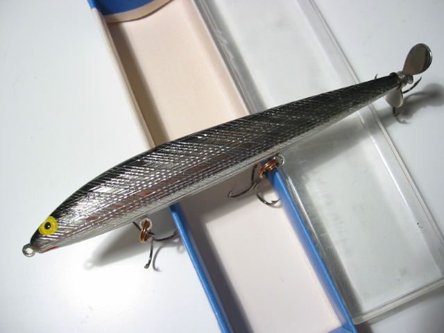 Old REBEL MINNOW SPINNER LURE