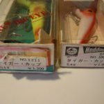 Old HEDDON BIG EYE and TIGER LURES