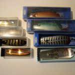 Old BETE SPOON LURES