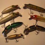 Old ABU Hi-Lo LURES