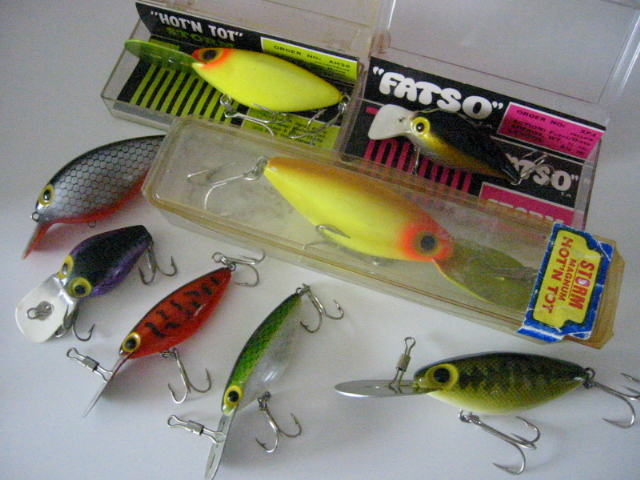 Old THIN FIN HOT'N TOT LURES