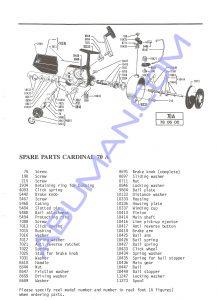 CARDINAL 70A 780600