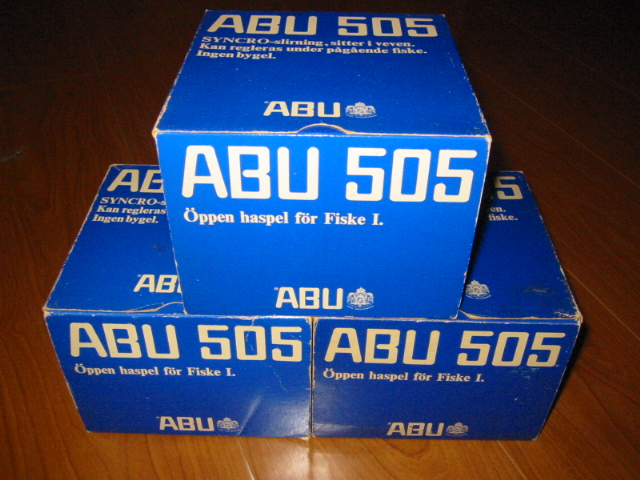 ABU 505 Blue-Box