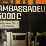 Ambassadeur 5001C 057200 Manual