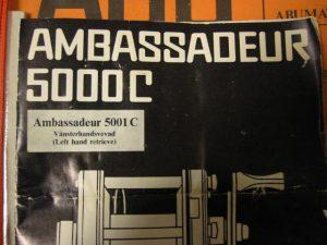 Ambassadeur5001C 057200 Manual