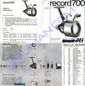 Swiss record 700